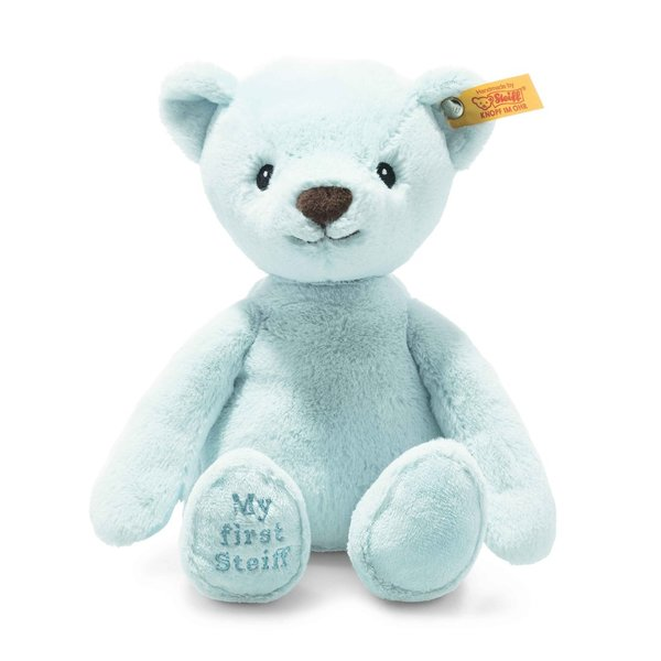 Steiff Soft Cuddly Friends My first Steiff Teddybär blau 26cm